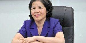 Chủ tịch Hội đồng Quản trị cổ phần sữa Việt Nam bà Mai Kiều Liên - Nhà máy sữa bột Vinamilk Bình Dương:Công ty Lương Tiến luôn xem khách hàng là số 1