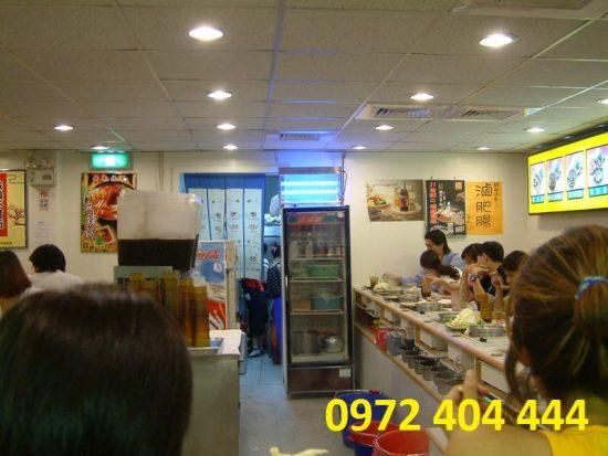 Đèn diệt côn trùng được sử dụng rộng rãi trong nhà hàng