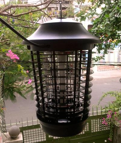Đèn DS-DU15 sử dụng hiệu quả ngoài trời