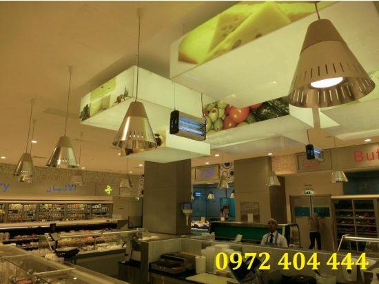 Đèn diệt côn trùng lắp đặt cho nhà hàng