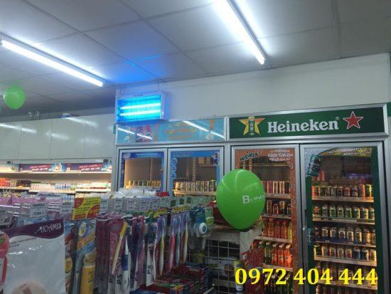 Công ty Lương Tiến cung cấp đèn diệt côn trùng cho siêu thị B'S Mart
